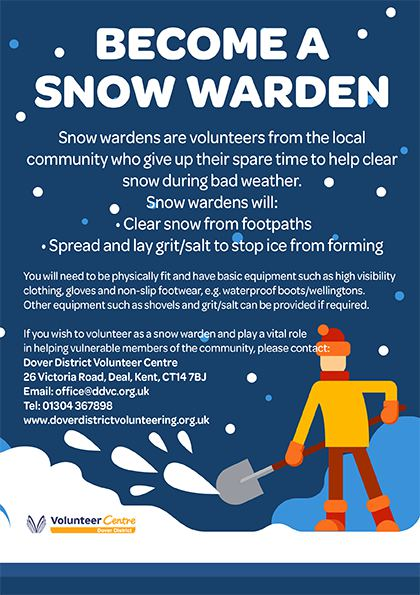 Become a snow warden