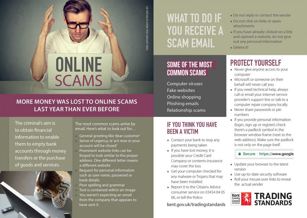 Advice on Scams